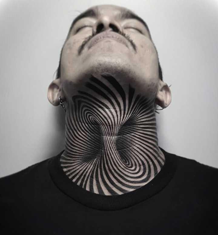 18 Ideas para tatuajes en el cuello. 16