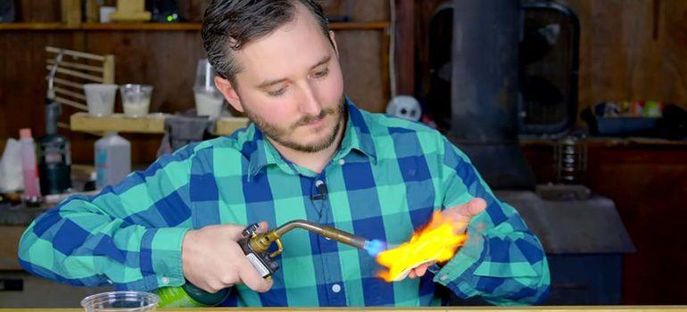 Recrea el supermaterial Starlite con cosas que tienes en la cocina. 3