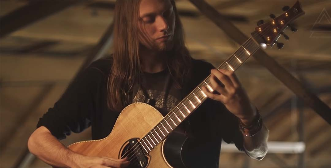 Tocando One de Metallica solo con una guitarra. 1