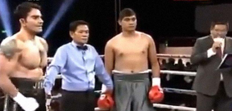 El peor combate de boxeo del mundo. 1