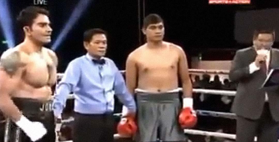 El peor combate de boxeo del mundo. 3