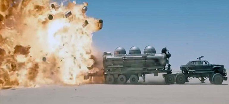 Mad-Max Furia en la carretera sin efectos especiales. 5