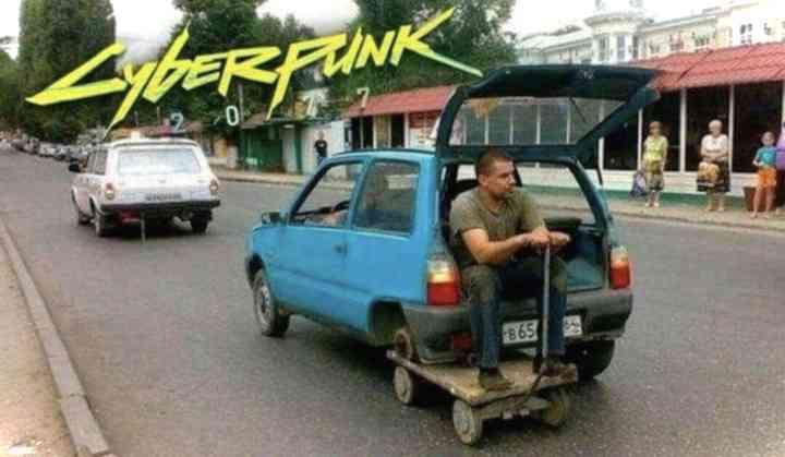 Memes de Cyberpunk 2077, 20 imágenes divertidas de gente que ya vive en el futuro. 4