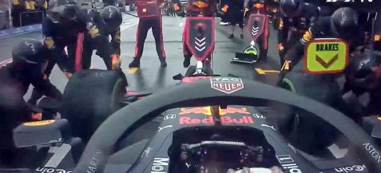 La parada en boxes más rápida de la F1. 4