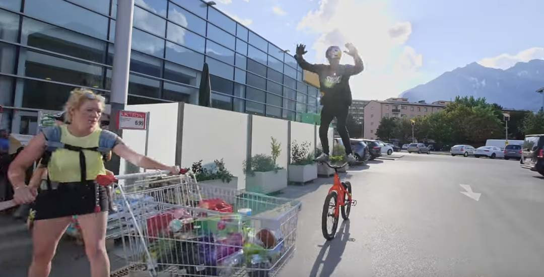 Un paseo por Austria en la bicicleta de Fabio Wibmer. Vídeo. 15