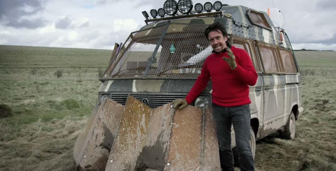 Richard Hammond ya esta preparado para luchar contra los Zombis. 2