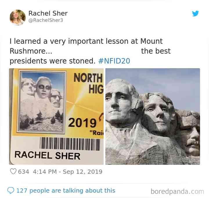 Las 30 fotos más originales de los carnets de estudiante que vas a ver. 29