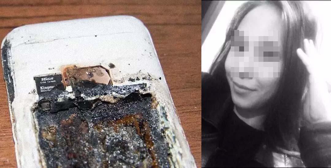 Adolescente pierde la vida al explotar su móvil mientras dormía. 2