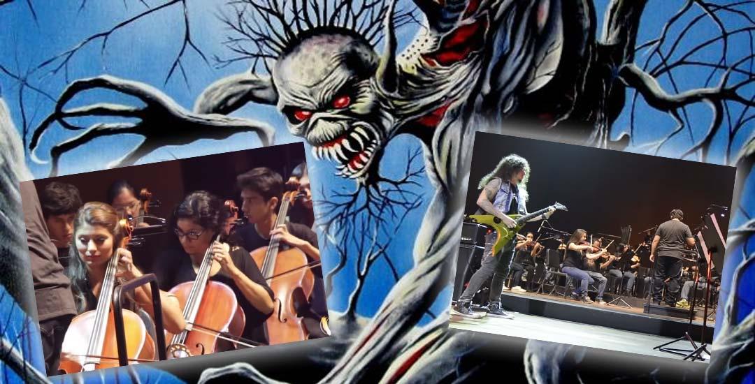 Fear of The Dark de Iron Maiden por la Hills Symphony Orchestra. 4