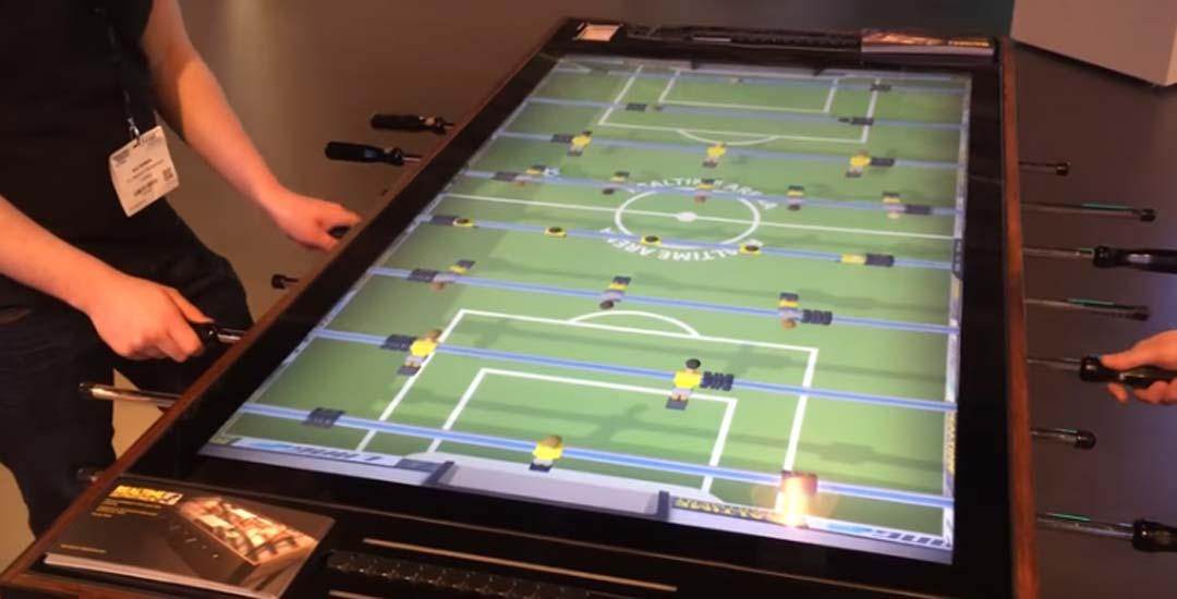 Futbolin digital interactivo. 1