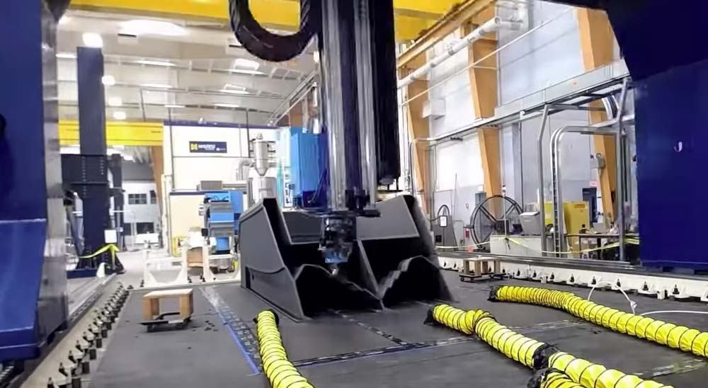 Descubre la impresora 3D más grande del mundo