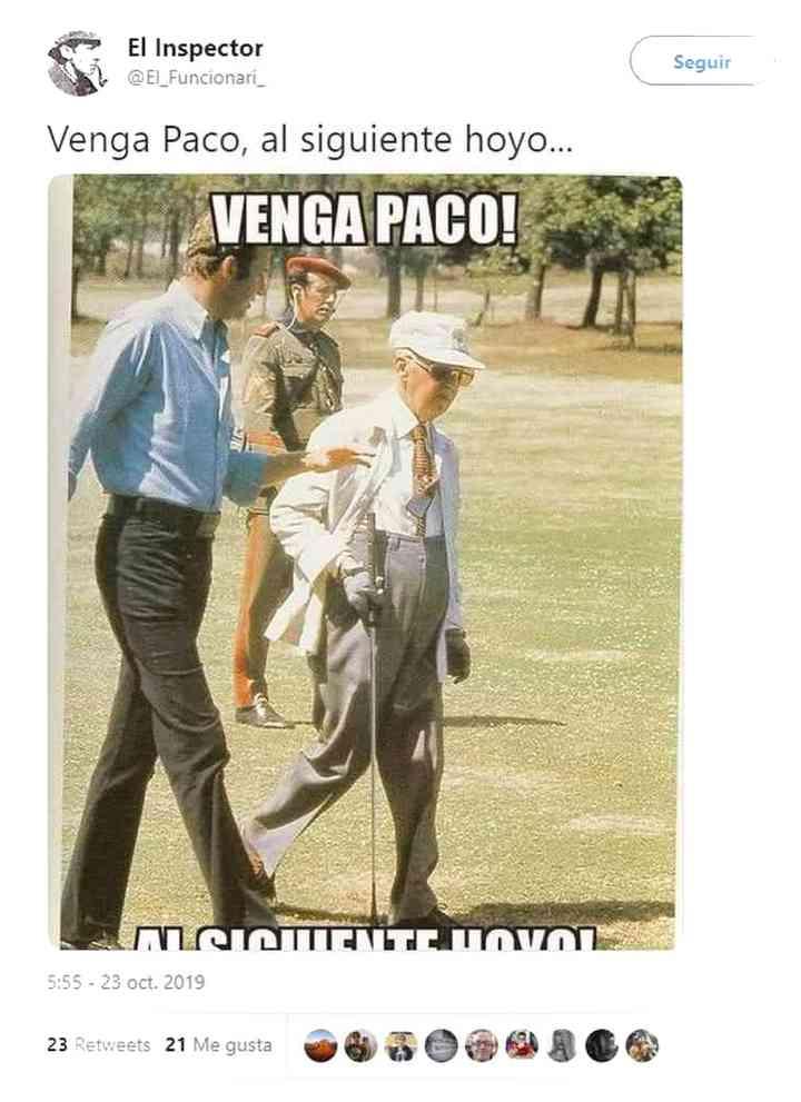 Los memes de Franco y su exhumación 15