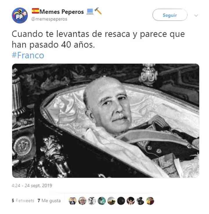 Los memes de Franco y su exhumación 17