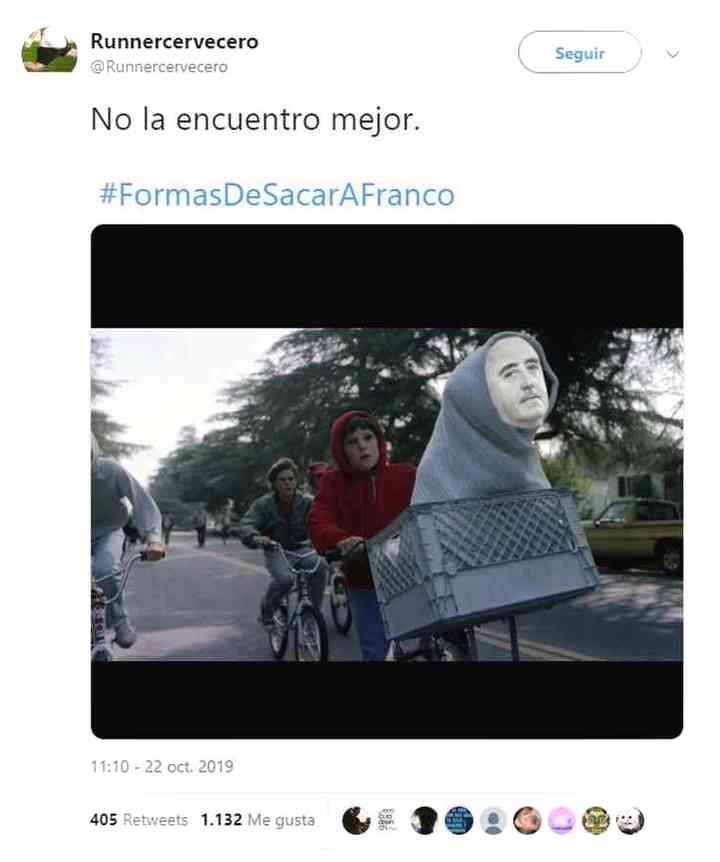 Los memes de Franco y su exhumación 19