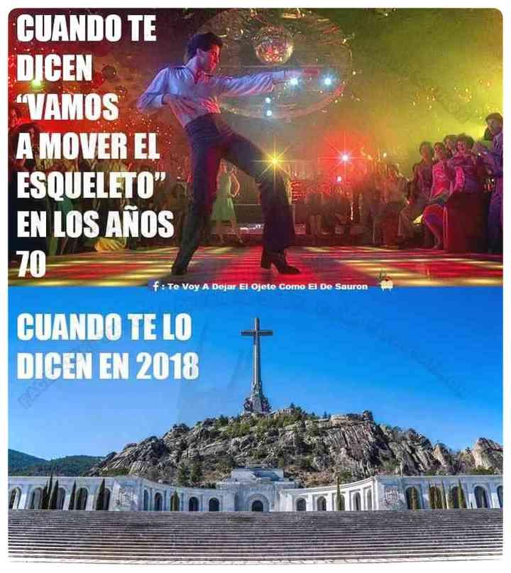 Los memes de Franco y su exhumación 3