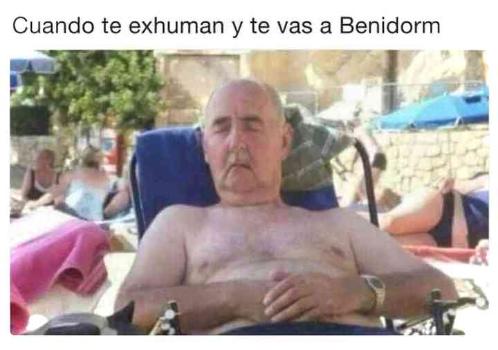 Los memes de Franco y su exhumación 5