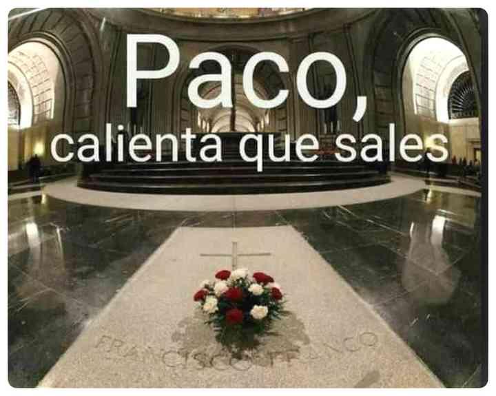 Los memes de Franco y su exhumación 7