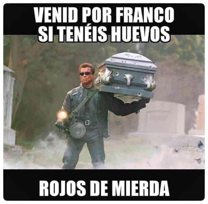 Los memes de Franco y su exhumación 10