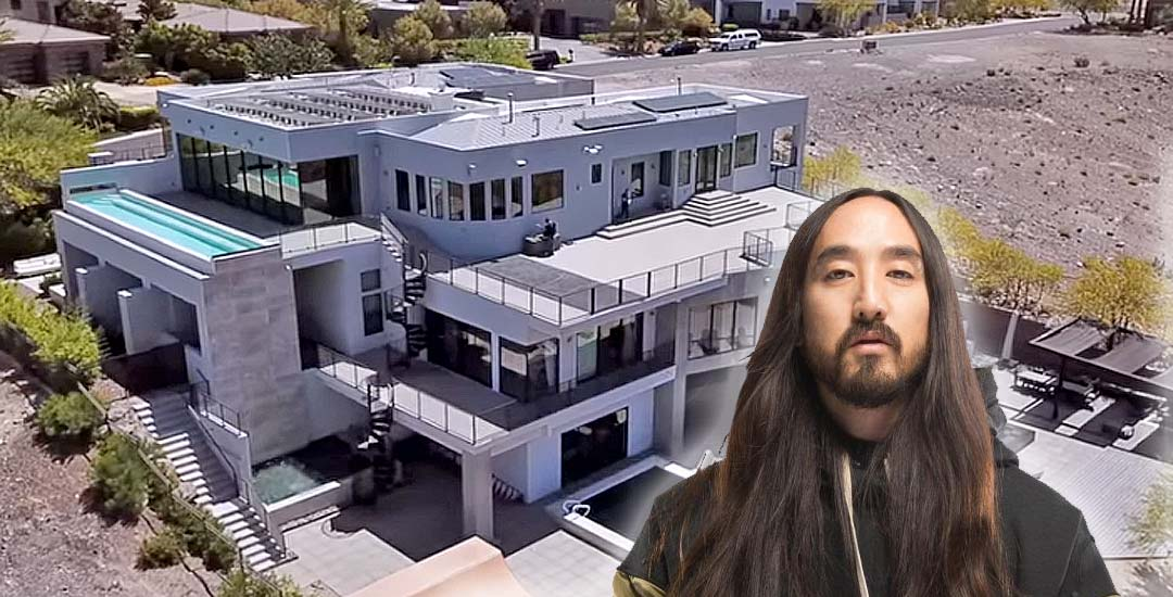 Así es la mansión de Steve Aoki en Las Vegas 1