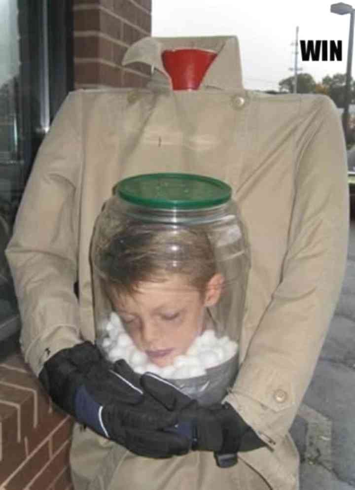 14 Niños que han triunfado en Halloween con su disfraz 9