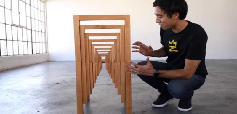 Curiosas ilusiones ópticas usando muebles 1