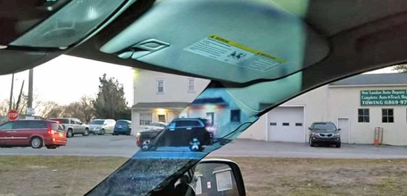 Proyecto de ciencias de una niña de octavo grado para eliminar los ángulos muertos de los coches 1