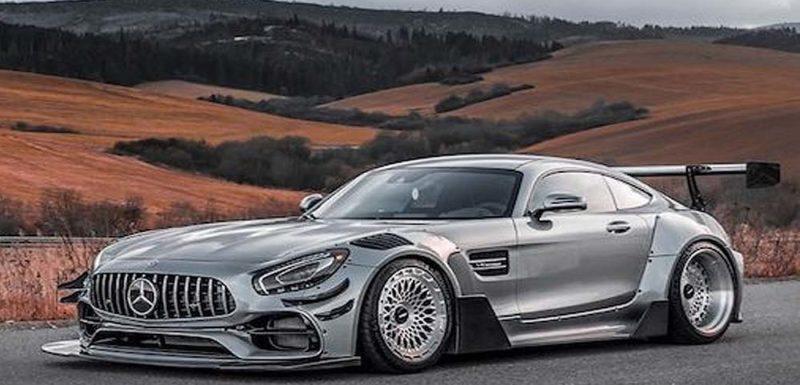 Vídeo del Mercedes AMG GTS Carbonarre project 1