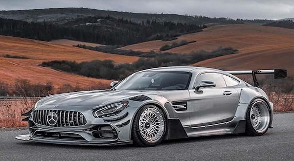 Vídeo del Mercedes AMG GTS Carbonarre project 2
