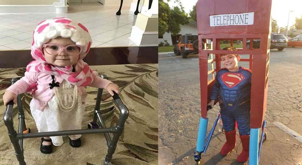 14 Niños que han triunfado en Halloween con su disfraz