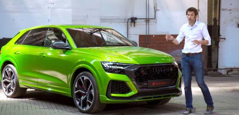 Impresionante el nuevo Audi RS Q8 [Vídeo] 1