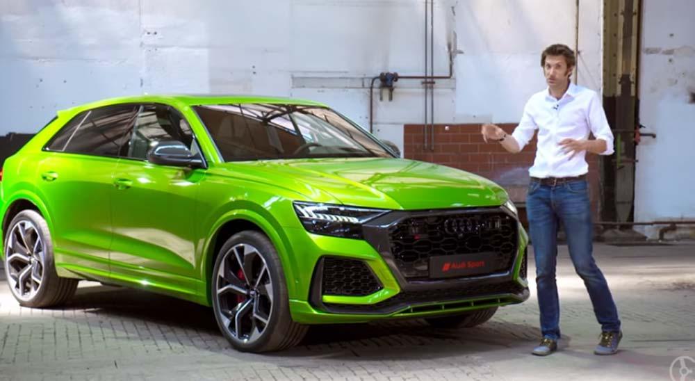 Impresionante el nuevo Audi RS Q8 [Vídeo] 7