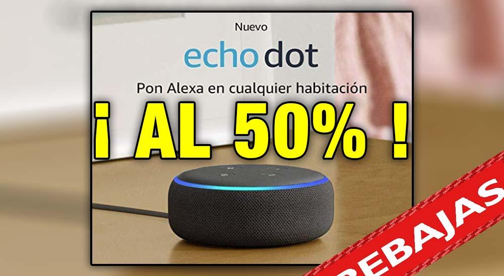 ¡ El altavoz de Alexa a mitad de precio !