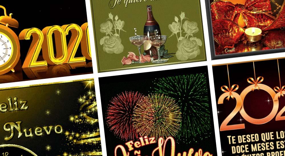 10 Felicitaciones animadas para Año Nuevo 2020