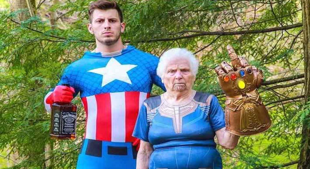 Una abuela de 93 años y su nieto triunfan en Instagram 1