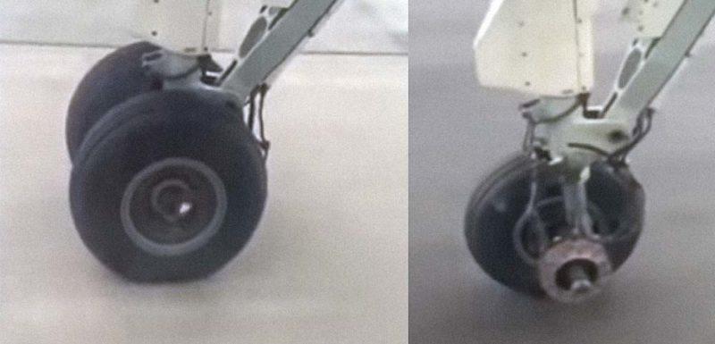 Pánico al comprobar que un avión pierde una rueda al despegar 1