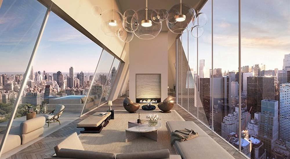 Visitamos un espectacular apartamento triplex en Central Park, que cuesta 40 millones de dólares 2