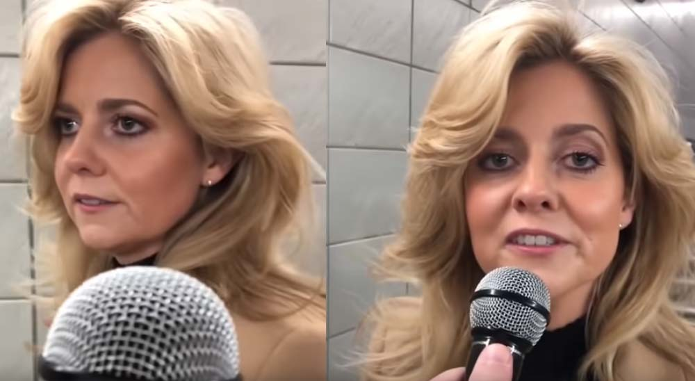 Mujer anónima sorprende cantando Shallow en el metro de Londres 3