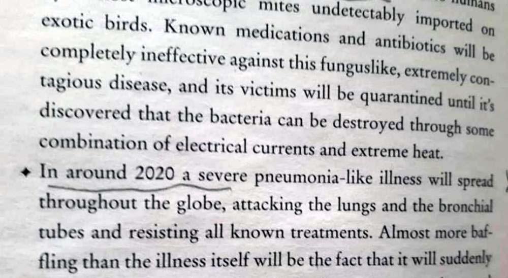 El escritor Dean Koontz predijo el coronavirus en su libro publicado en 1981 3