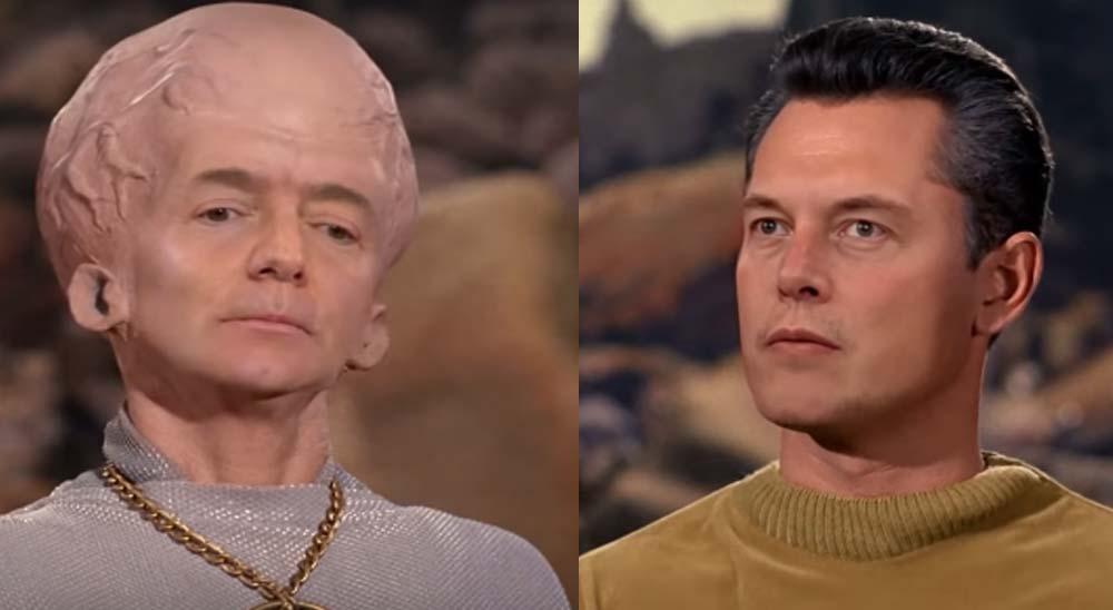 Elon Musk y Jeff Bezos protagonizan un episodio de Star Trek gracias al Deepfake 9