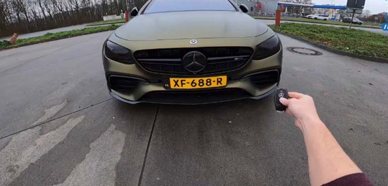 Poniendo un Mercedes E63 AMG de 788 caballos a 307 por hora en la autopista 1