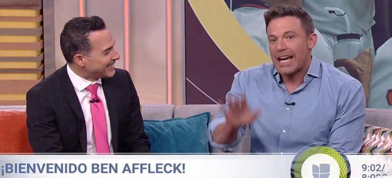 Ben Affleck demuestra lo bien que habla Español 6
