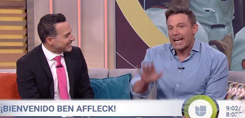Ben Affleck demuestra lo bien que habla Español 1