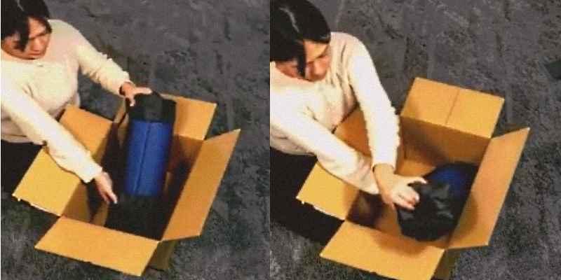 Cómo meter un objeto grande en una caja pequeña 3