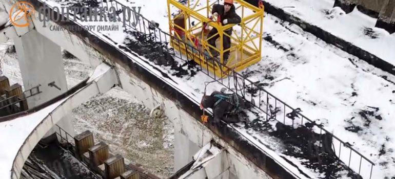 Un trabajador muere en el derribo de un estadio en Rusia 5