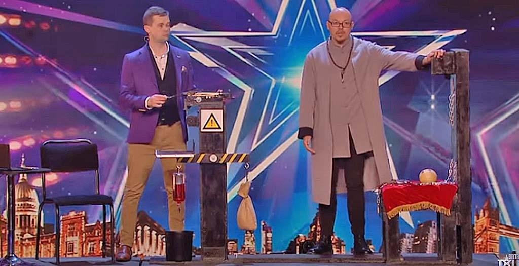 Angustioso numero de escapismo en el programa Got Talent 3