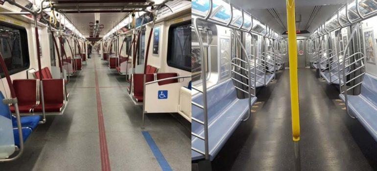 19 Fotos de el metro vacío alrededor del mundo 3