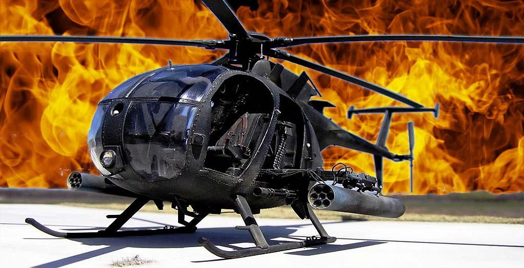 Descubre el helicóptero AH-6 Little Bird en plena acción 4