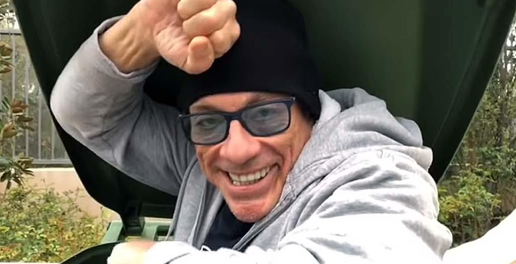 Jean-Claude Van Damme sale del encierro y esto es lo que pasa 2