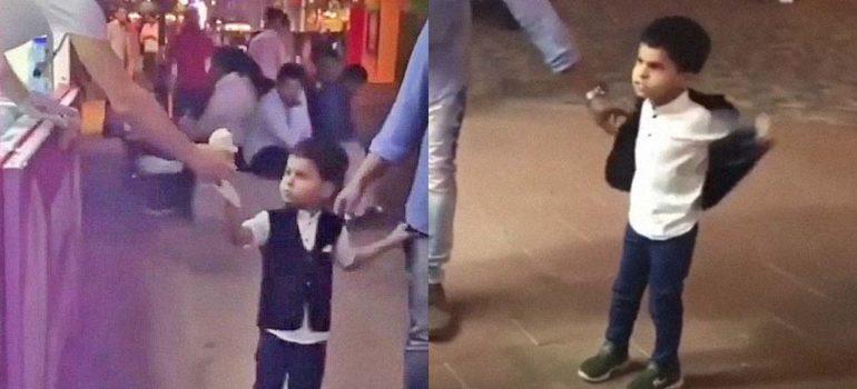 Este niño del vídeo no va a permitir que el heladero le gaste una broma 4
