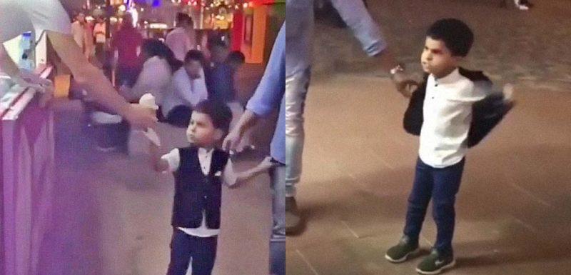Este niño del vídeo no va a permitir que el heladero le gaste una broma 1